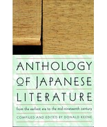Anthology of Japanese Literature, from earliest era to mid-nineteenth ce... - $19.99