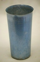 Aluminum Tumbler Drinking Glass Metal Cup Vintage Retro MCM d - $9.89
