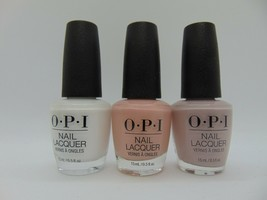OPI Nail Polish 0.5 Fl oz BEST SELLING *3 bottles* - L00 S86 A60 ONLY FO... - $16.82
