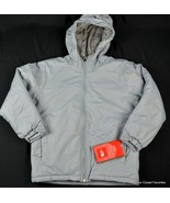 "New $275 THE NORTH FACE Jacket ""Rail Rider"" Boys M Medium 10/12 Gray Winter Coat - $107.96"