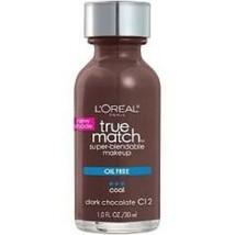 L'Oreal True Match Super Blendable Makeup- C12 Dark Chocolate - $4.99
