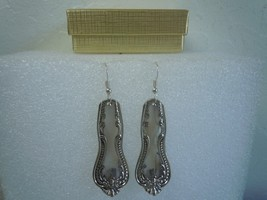 Towle Chester 1888 Earrings Silverplate Vintage - $35.63