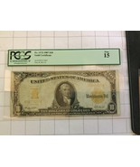 1907 US $10 Dollar Gold Certificate Bank Note PCGS Fine15 - $200.00