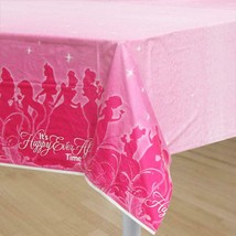 Disney Princess Sparkle & Shine Table Cover Birthday Party Supplies 1 Count New - $6.88