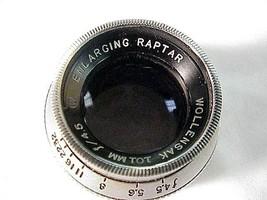 101mm f4.5 Wollensak Raptar Enlarging Lens (No 20) - $35.00