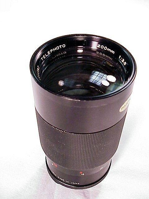 135mm f3.5 Vivitar Lens for Pentax SM