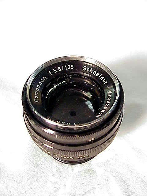 135mm f5.6 Schneider Componon Enlarging Lens (No 4)