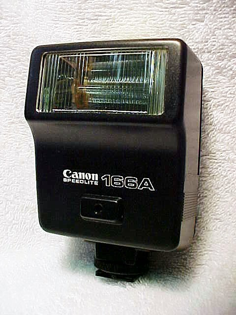 166A Canon FD Flash (No 4)