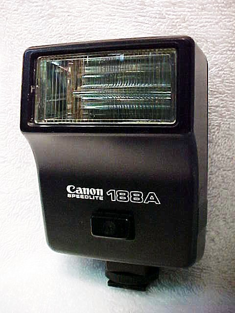 188A Canon FD Flash (No 2)