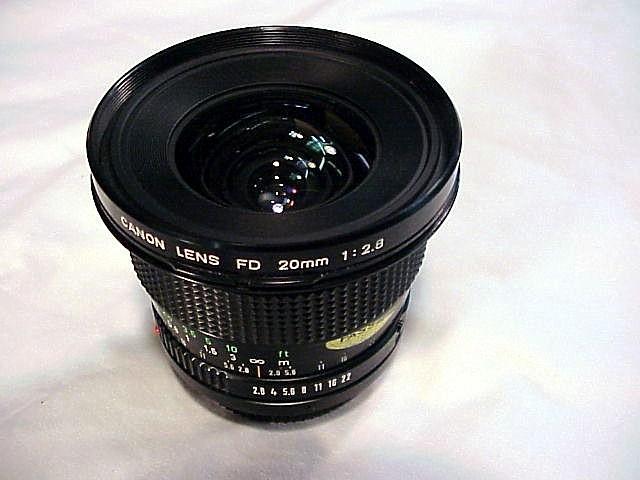 20mm f28 cano