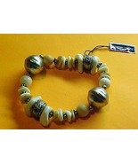 Bracelet -Genuine Lucite Made in China - $9.95