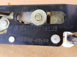 Mercedes Benz CLK320 E320 Convertible Top Boot Cover Hydraulic Lock 1247700426 image 7