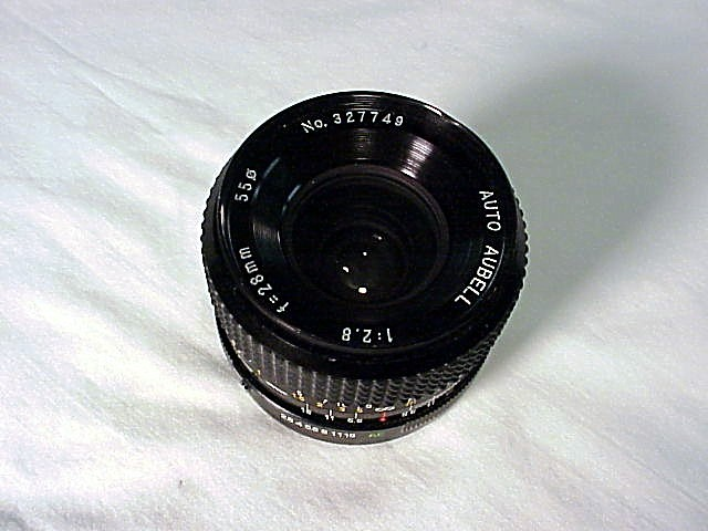 28mm f2.8 Aubell Brand for Konica