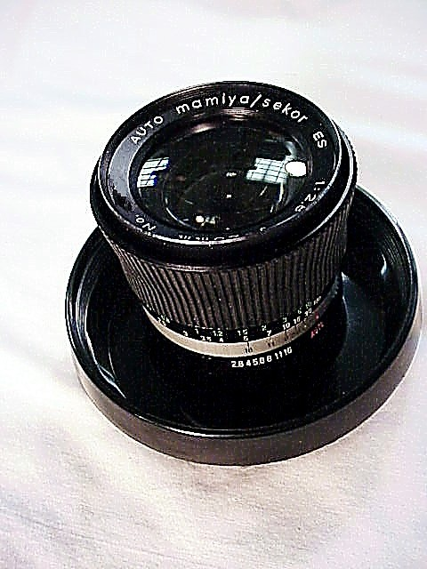 28mm f2.8mm Lens for the Mamiya Auto XTL camera (bayonet mou