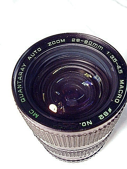 28-80mm f3.5-4.5 Quantary Brand Lens for Konica