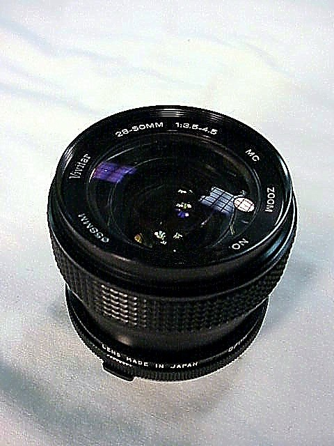 28-50mm f3.5-4.5 Vivitar Zoom Lens for Olympus