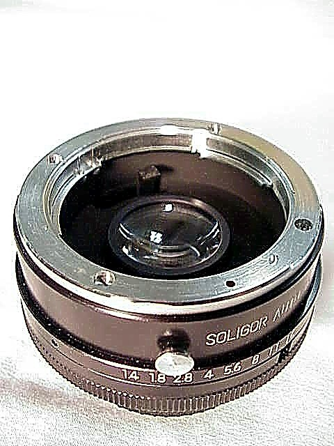 2X Soligar Doubler for Minolta (Uncoupled) (No7)