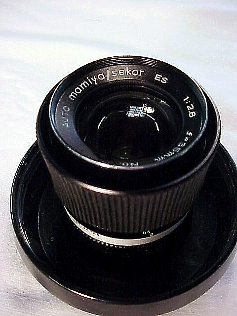 35mm f2.8 Mamiya Sekkor for the MAMIYA auto XTL Camera (bayo