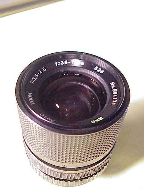 35-70mm f3.5-4.5 RKN Lens for Pentax K