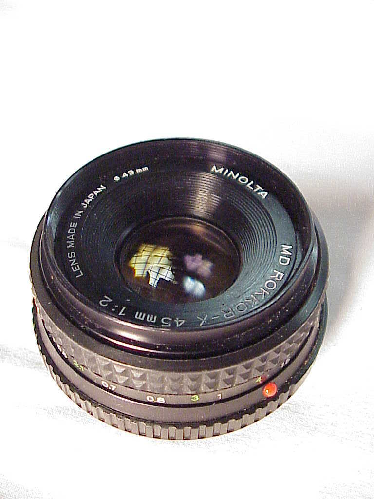 45mm f2.0 MD Rokkor-X Pancake Lens for Minolta (No16)