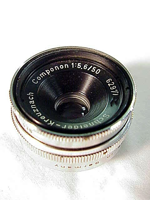 50mm f5.6 Schneider Componon Enlarging lens (No 15)