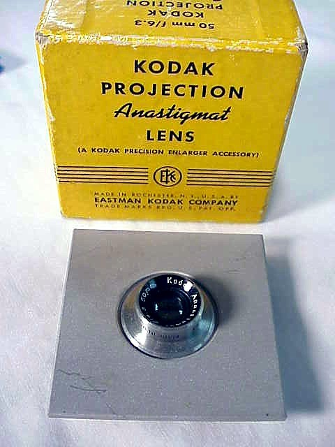 50mm f6.3 Kodak Anastigmat Enlarging Lens (No 31)