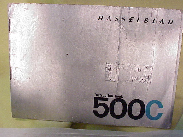 500C Hasselblad Instructions (Xerox Copy)