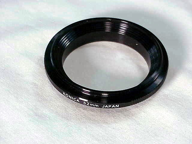 52mm Reversing Ring for Konica Cameras
