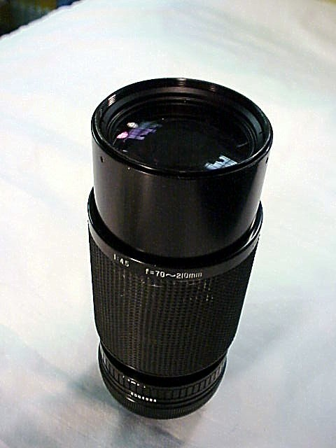 70-210 f4.5 Komura for Canon FD