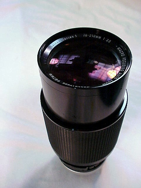 70-210mm f3.5 Vivitar Series I for Canon FD