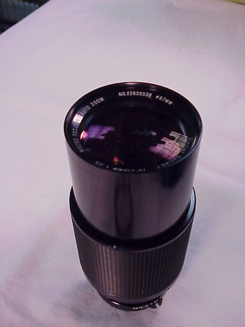 70-210mm f3.5 Vivitar Series I for Nikon non-AI