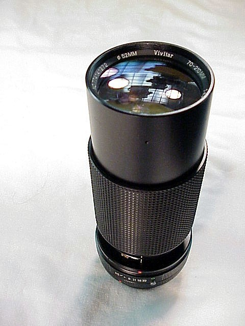 70-210mm f4.5 Vivitar Macro Zoom for Canon FD