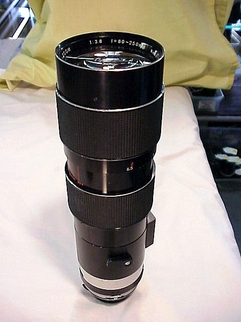 80-250mm f3.8 Tamron Adaptall Lens for Minolta MC