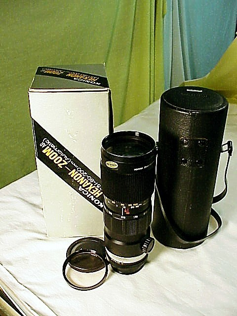 80-200 f3.5 Zoom-Hexanon AR for Konica