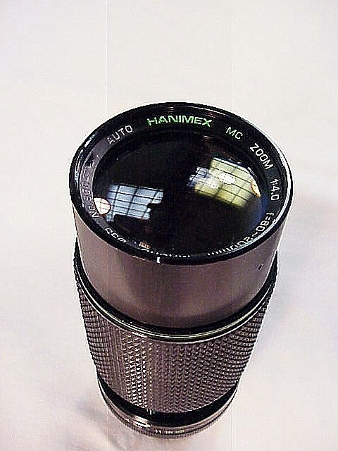 80-200mm f4.0 Hanimex for Yashica Cameras