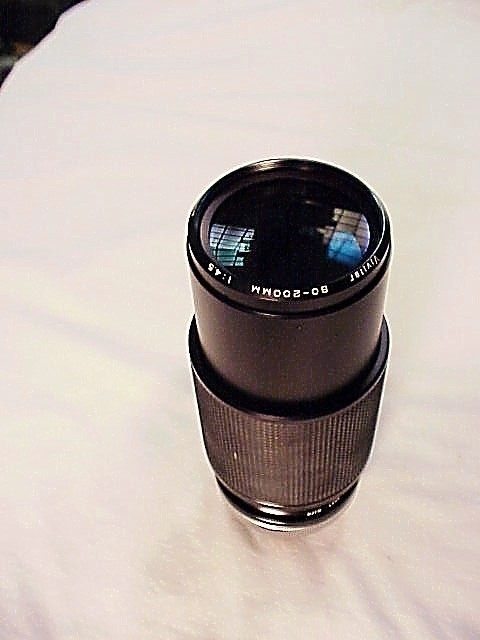 80-200mm f4.5 Vivitar Lens for Canon FD Cameras