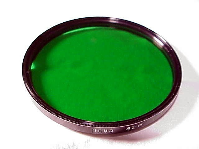 82mm Green Hoya filter for Bronica S2 5cm Ultrawide Lens