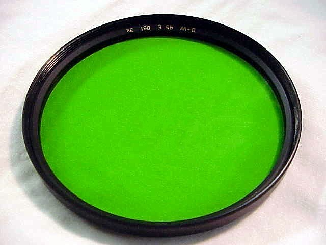 95mm bampw green filter for hasselbl