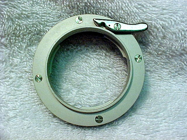 Adapter Ring for Mounting Contax IIa/IIIa Lenses on Enlarger