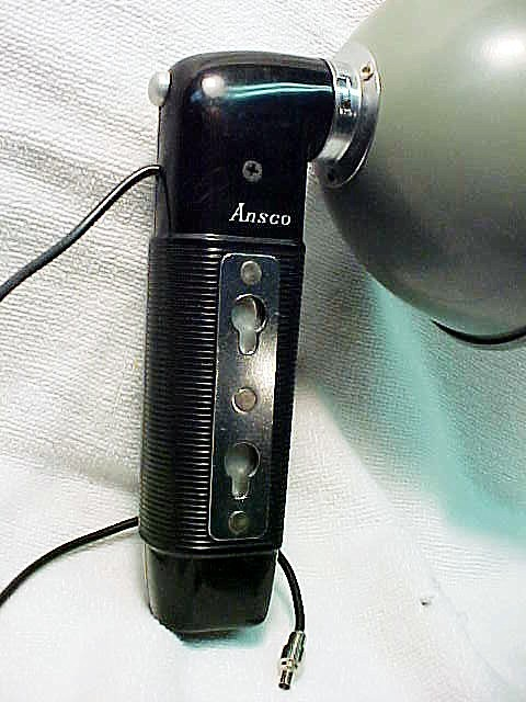 Ansco Flash with PC cord for Press Bulbs (No 2)