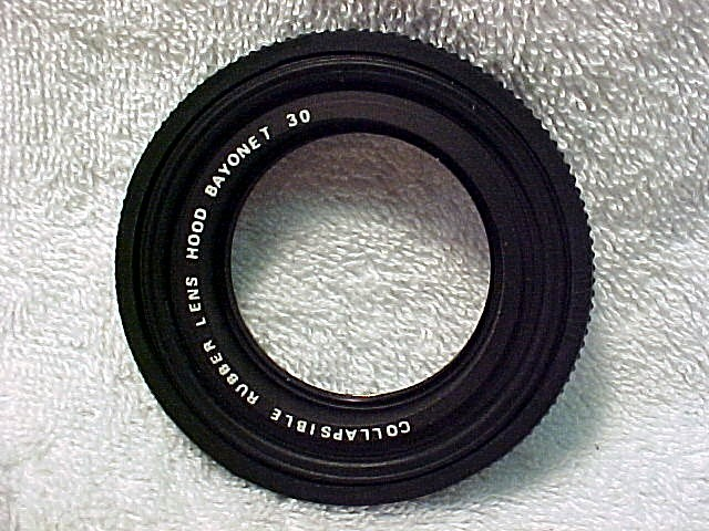 Bay I Rubber Hood for Yashica TLR Cameras