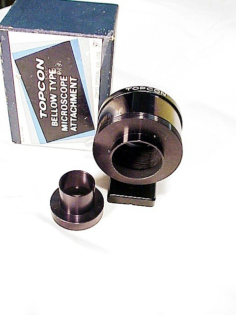 Bellows Type Topcon Microscope Attachment