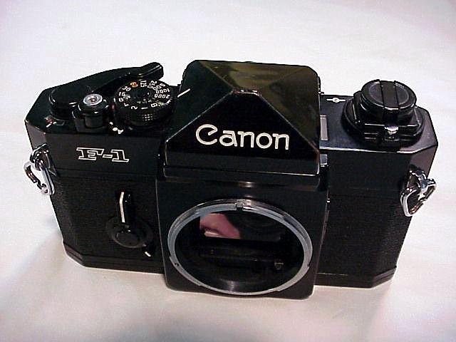 Canon f1 mechanica