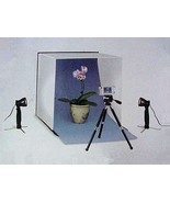 Compact Table Top Photo Studio (with tripod & 2 lights) - $109.00