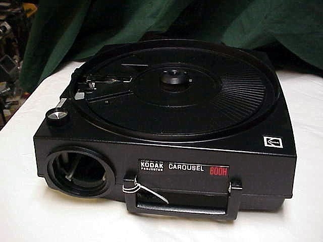 Ektagraphic 600h slide projector no lens body o