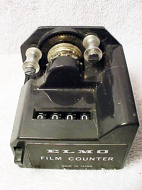 Elmo Super 8 Film Counter with Zero Reset Button