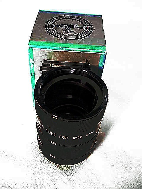 Extension Tube Set Vemar Brand  for Pentax Screw Mount (No4)