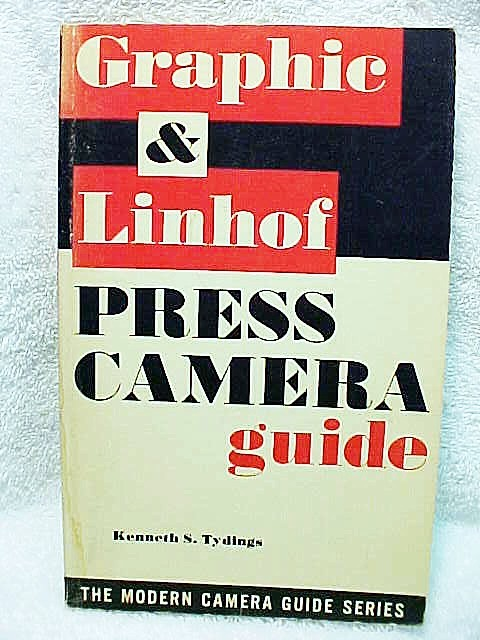 Graphic and Linhof Press Camera Guide, 127pgs, 1961 (Origina