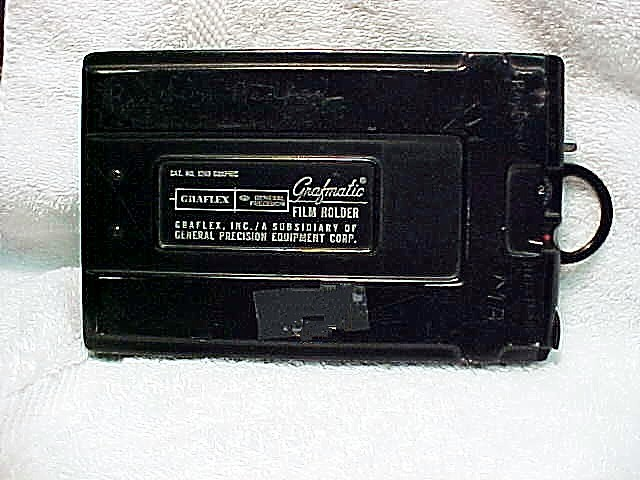 Grafmatic Film Holder for 4x5 for Parts (No 22)