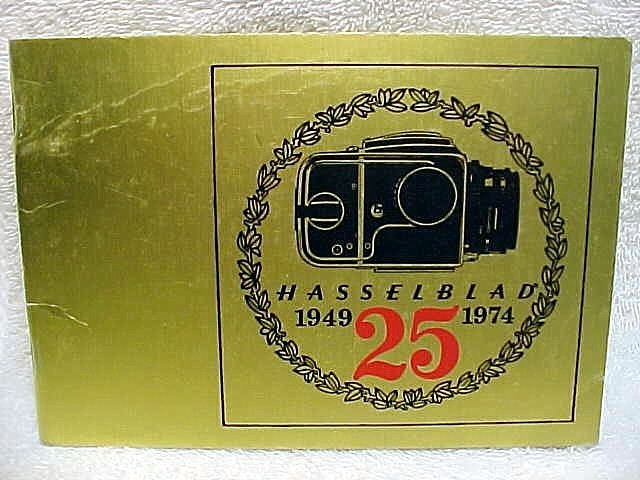 Hasselblad 1949 - 1974 25th Anniv 24 pgs (xerox copy)